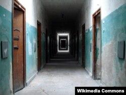 Dachau düşərgəsində məhbusların saxlandığı yer