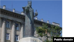 Monumentul lui Ștefan cel Mare la Bălți