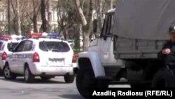 Azerbaijan -- Azerbaijani police, Baku, 17Apr2011