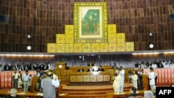 FILE: National Assembly, the lower house of the Pakistani Parliament.