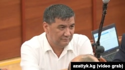 Депутат парламента Искендер Матраимов.