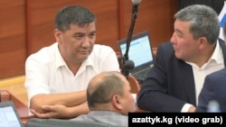 Мыйзам долбоорунун авторлорунун бири Искендер Матраимов.
