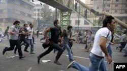 Supporters of Mir Hossein Mousavi in Tehran