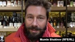 Евгений Чичваркин, предприниматель, в магазине Hedonism Wines