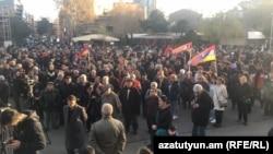 Армениянын оппозициячыл кыймылдарынын Еревандагы жыйындарынын бири
