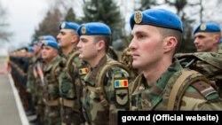 Militari moldoveni