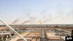 مصفاة للغاز الطبيعي في جنوب العراق