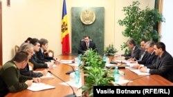 Ședința guvernamentală la Chișinău la care s-a discutat incidentul de la Vadul lui Vodă