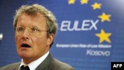 Shefi i misionit të EULEX-it, Bernd Borchardt.
