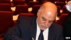 Хайдар аль-Абади, кандидат на пост премьер-министра Ирака.