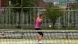 Kosovo - Tennis player Blearta Ukëhaxhaj