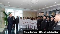 Prezident İ.Əliyev MTN əməkdaşları ilə görüşdə