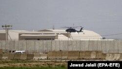 Вид на авиабазу Баграм. Иллюстративное фото.