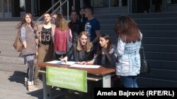 Peticija u Novom Pazaru
