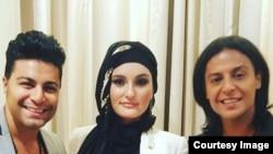 Фарзонаи Хуршед в Гамбурге вместе с иранскими и афганскими исполнителями