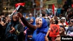 Protestat antiqeveritare në Egjipt.
