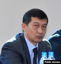 Экс-глава МВД Узбекистана Адхам Ахмедбаев, обвиненный в «предательстве» президентом Шавкатом Мирзиеевым.