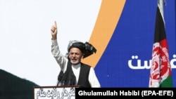 Президент Афганистана Ашраф Гани. Его инаугурация запланирована на 9 марта. На этот же день планировалась церемония вступления в долность его соперника Абдуллы Абдуллы.