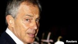 Бывший премьер-министр Тони Блэр.
