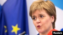 Ministrja e Parë e Skocisë, Nicola Sturgeon.