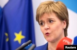 Scotish National Party leader Nicola Sturgeon (file photo)
