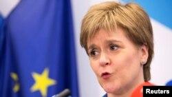 Шотландия бірінші министрі Никола Старджен. Брюссель, 29 маусым 2016 жыл.