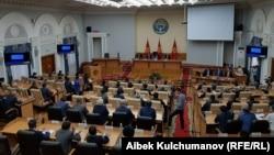 Өкмөт жыйыны. Бишкек. 21.08.2017.