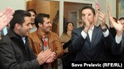 Slavlje DPS-a nakon pobjede na Cetinju