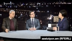Armenia -- MPs from Republican and Yelq faction discuss the electoral code, Yerevan, 27Oct2018