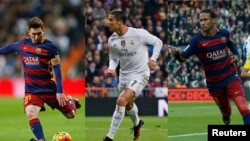 Messi, Ronaldo və Neymar
