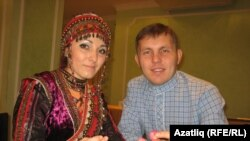 Алена Тимерханова һәм Александр Миңнеәхмәтов