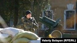 Украински војник во Крим