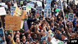 Про владини демонстранти во Триполи