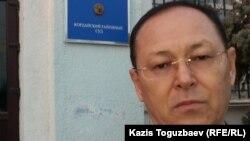 """Жарылкап Калыбай, главный редактор журнала """"Аныз адам"""". Село Кордай Жамбылской области, 4 ноября 2015 года."""