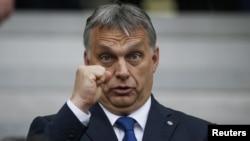 Венгриянын өкмөт башчысы Виктор Урбан.