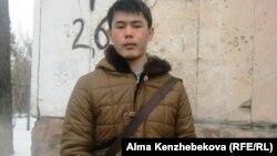 Семейный студент Ержан Тлепбергенов. Алматы, 16 февраля 2014 года.