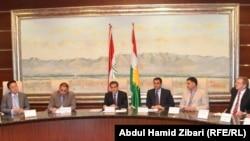 اربيل اجتماع مع ممثلي الدول الاجنبية في كردستان