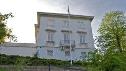 نمایی از سفارت جمهوری اسلامی ایران در اسلو، پایتخت نروژ