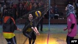 Дастаи волейболи Афғонистон. Акс аз бойгонӣ.