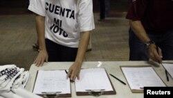 Opozicione pristalice koje zahtevaju novo prebrojavanje glasova