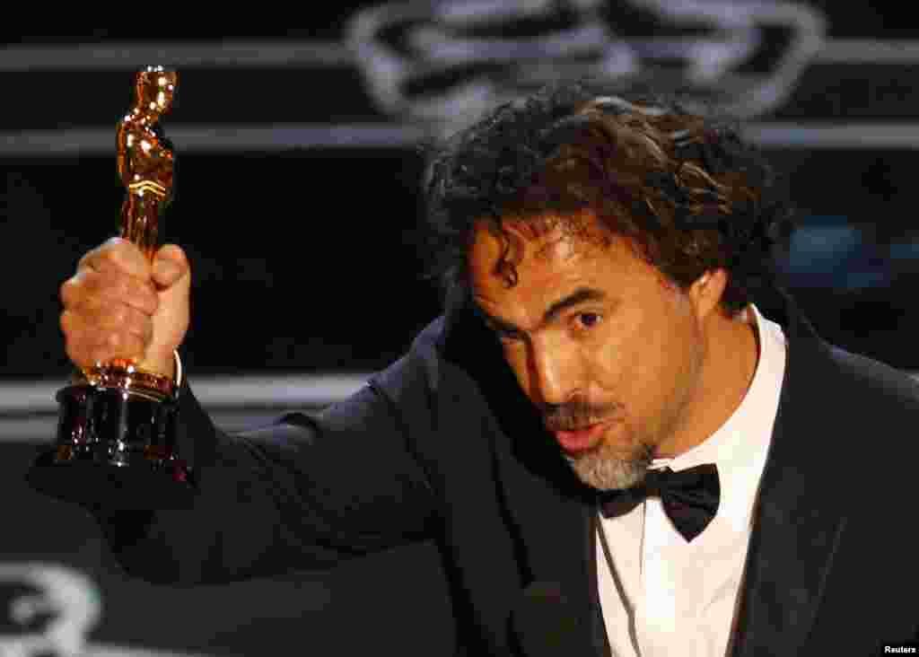 "Алехандро Гонсалес Иньяритус ""Оскаром"" за лучший фильм года (""Бёрдмэн"")"