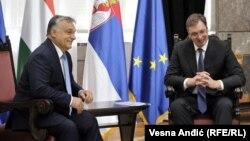 Premijer Mađarske Viktor Orban i predsednik Srbije Aleksandar Vučić