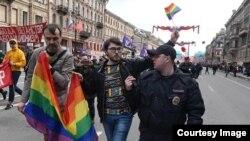 Igor Koșcetkov, militant pentru drepturile comunității LGBT, St. Petersburg