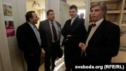 Аляксей Кавалец, Аляксандар Фядута, Юрась Губарэвіч, Ігар Лялькоў