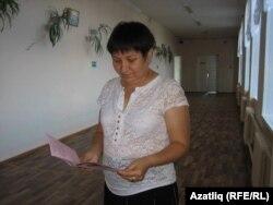 Татар теле укытучысы Фәвилә Ямалиева