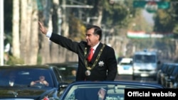 Tajik President Emomali Rahmon used to be known by the Russified version of his name, Emomali Sharifovich Rahmonov.