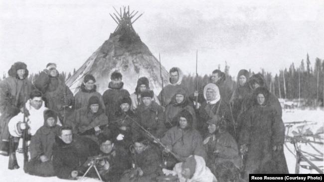 Опергруппа НКВД, проводившая карательную операцию в тундре