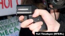 """Травматический пистолет """"Оса"""", выстрелом из которого легко убить"""