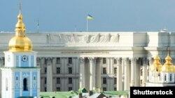 Панорама на будівлю МЗС України у Києві