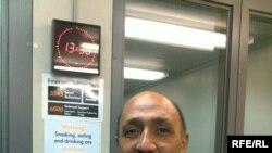 حامد السعدي في استوديوهات إذاعة العراق الحر